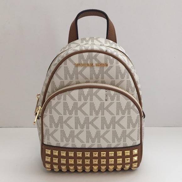 5407957d5da5 Michael Kors Bags | New Abbey Xs Studded Backpack | Poshmark